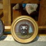 Grandpa cat OOAK painting a..
